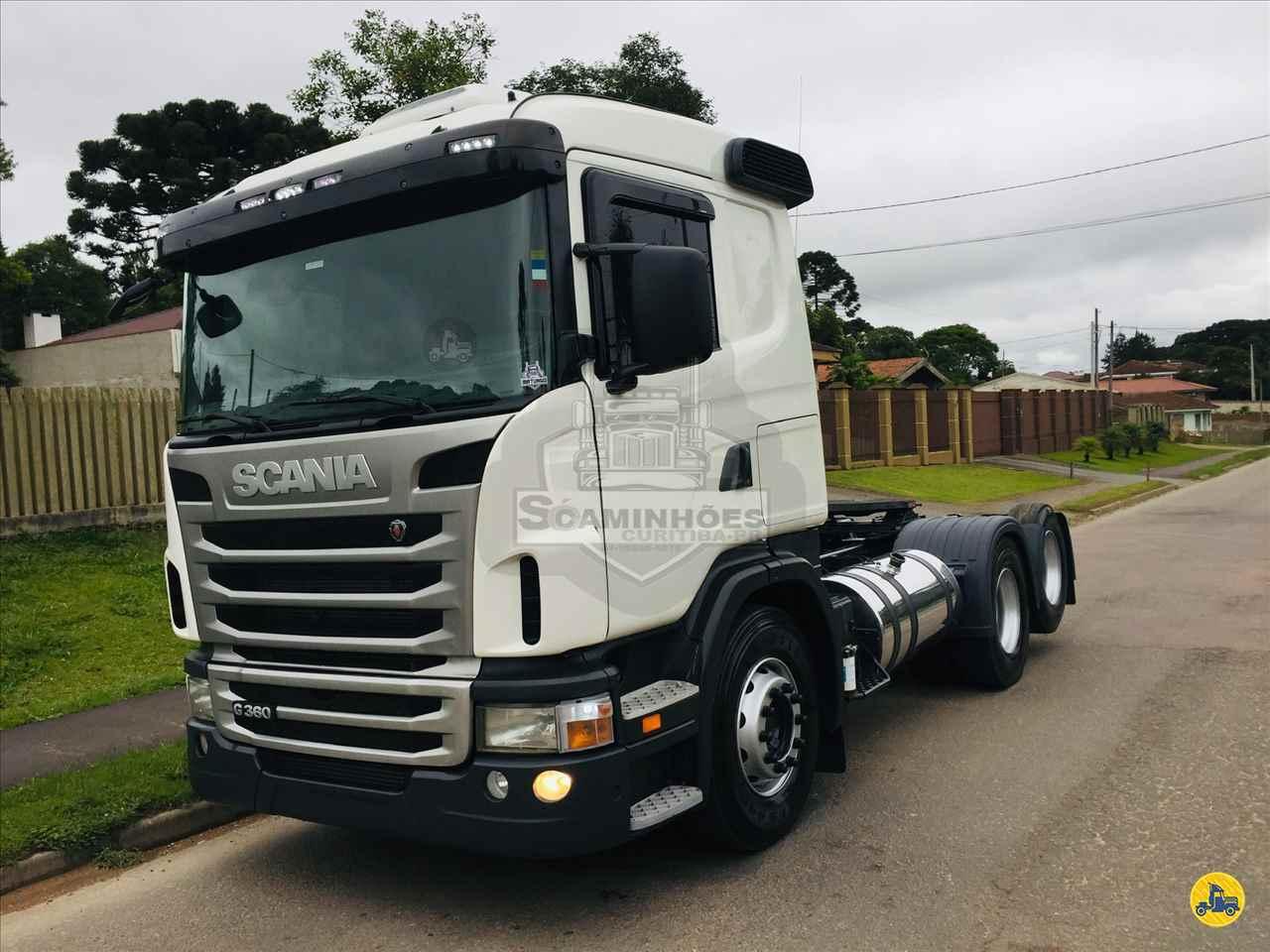 CAMINHAO SCANIA SCANIA 360 Cavalo Mecânico Truck 6x2 Só Caminhões Curitiba CURITIBA PARANÁ PR