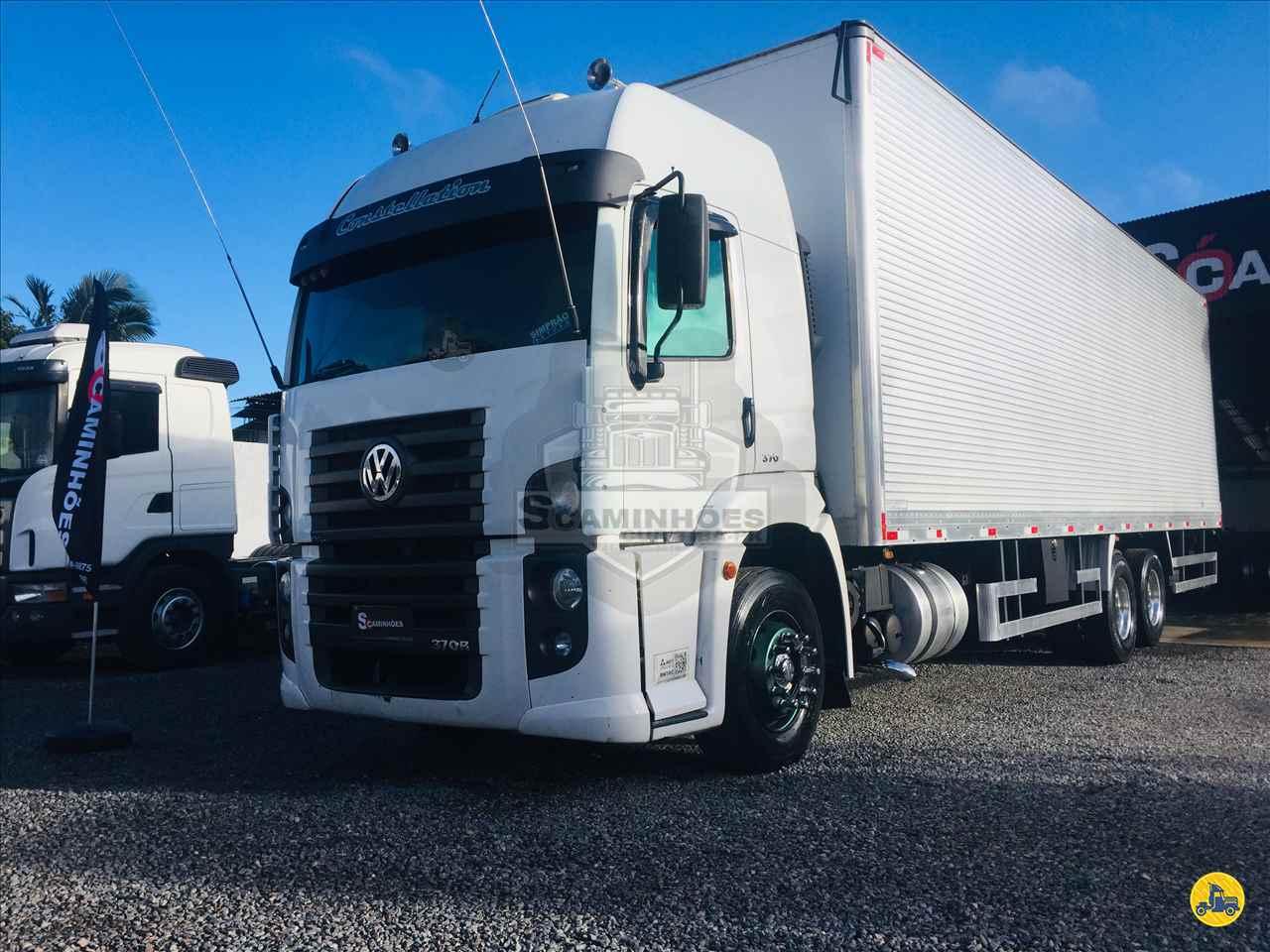 CAMINHAO VOLKSWAGEN VW 25370 Baú Furgão Truck 6x2 Só Caminhões Curitiba CURITIBA PARANÁ PR