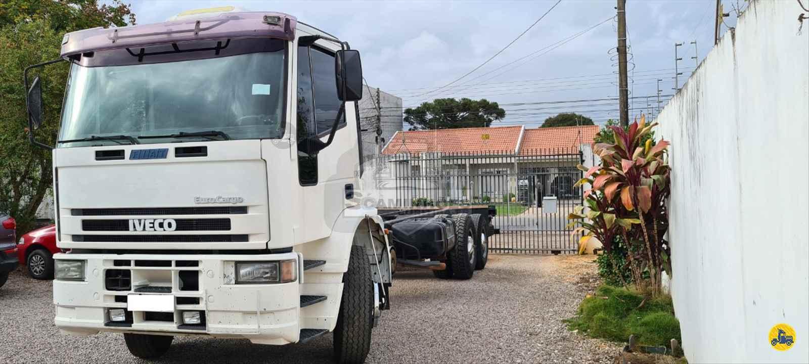 CAMINHAO IVECO EUROCARGO 160E21 Chassis Truck 6x2 Só Caminhões Curitiba CURITIBA PARANÁ PR