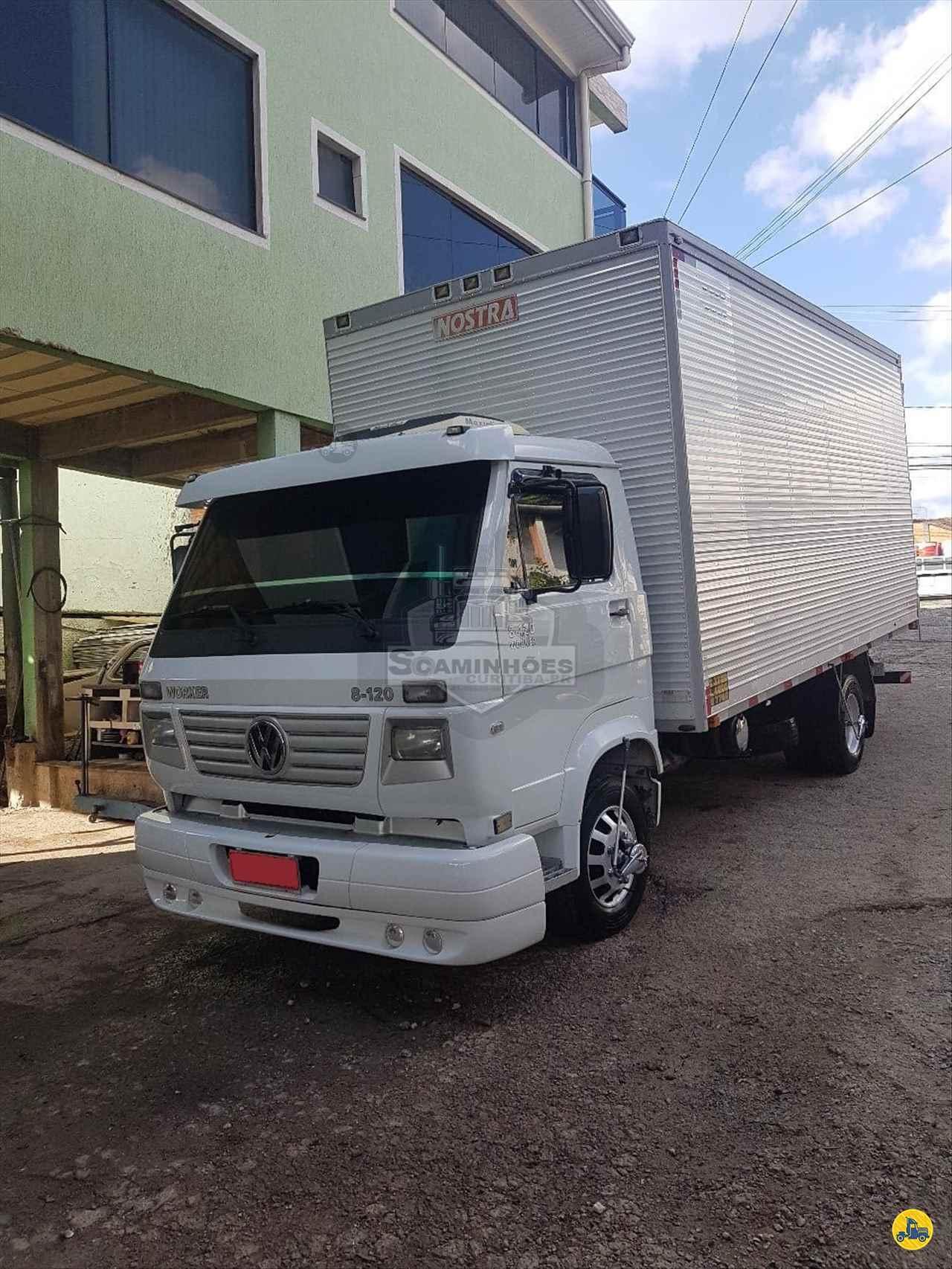 CAMINHAO VOLKSWAGEN VW 8120 Baú Furgão 3/4 4x2 Só Caminhões Curitiba CURITIBA PARANÁ PR