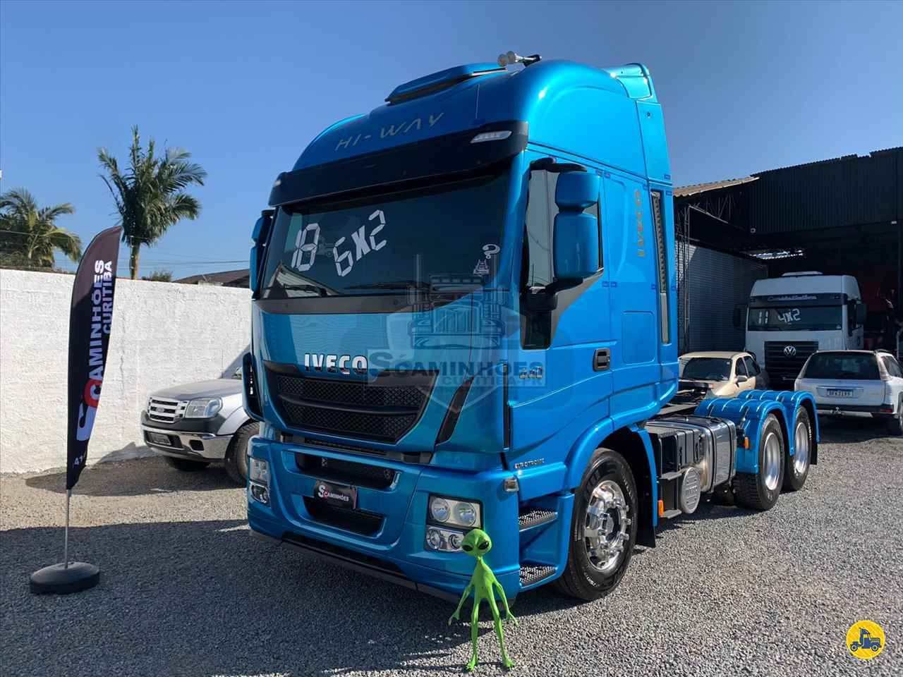 CAMINHAO IVECO STRALIS 440 Cavalo Mecânico Truck 6x2 Só Caminhões Curitiba CURITIBA PARANÁ PR