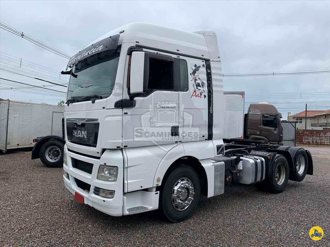 CAMINHAO MAN TGX 28 440 Cavalo Mecânico Truck 6x2 Só Caminhões Curitiba CURITIBA PARANÁ PR