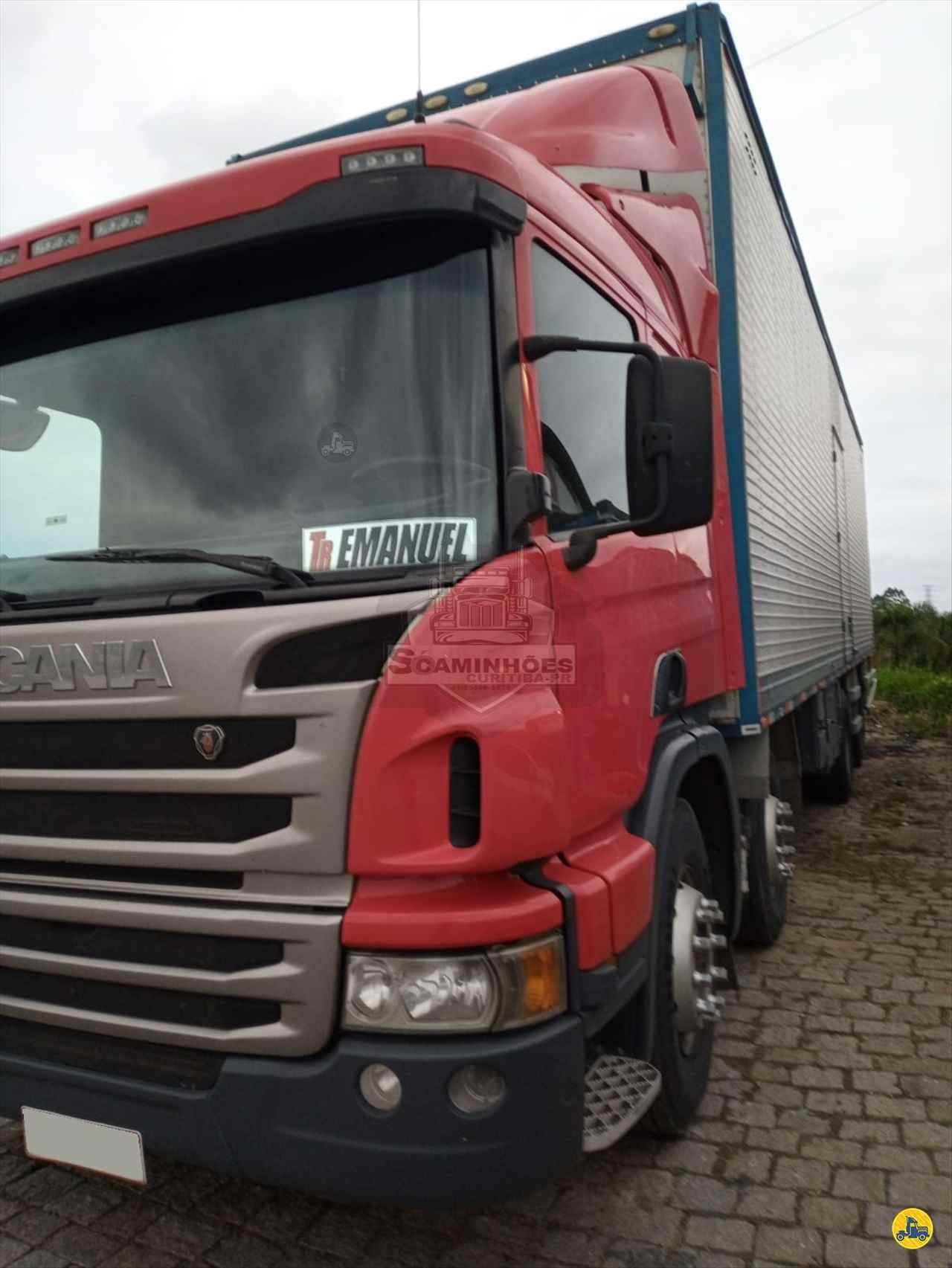 CAMINHAO SCANIA SCANIA P310 Baú Furgão BiTruck 8x2 Só Caminhões Curitiba CURITIBA PARANÁ PR