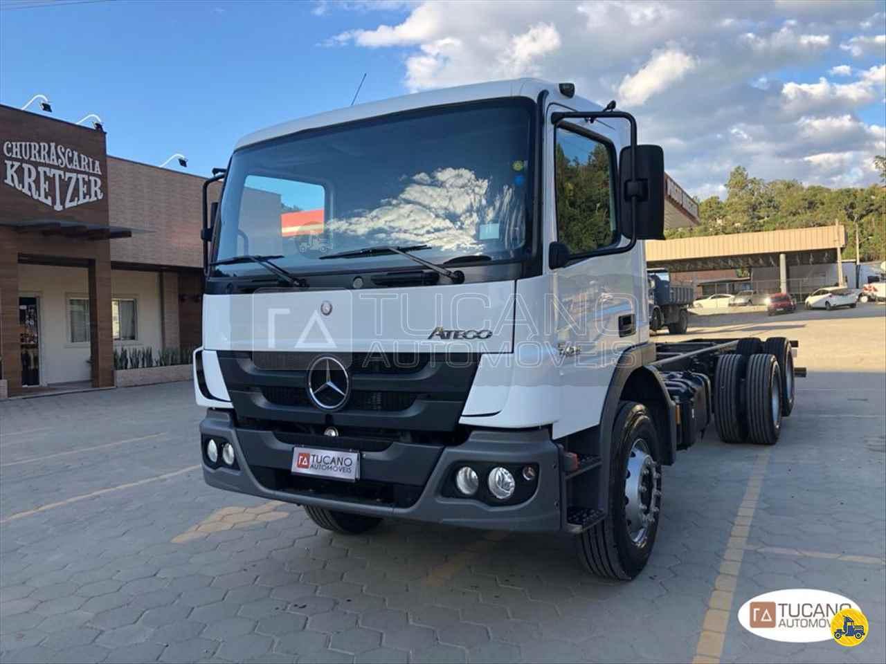 CAMINHAO MERCEDES-BENZ MB 2426 Chassis Truck 6x2 Tucano Automóveis ALFREDO WAGNER SANTA CATARINA SC
