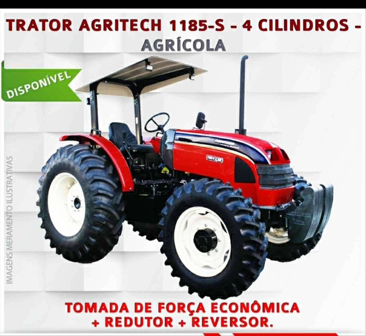 TRATOR AGRITECH 1185 Tração 4x4 Gerominho Implementos Agrícolas UBERLANDIA MINAS GERAIS MG