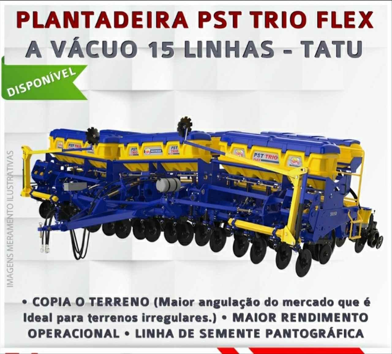 PLANTADEIRA TATU PST TRIO FLEX Gerominho Implementos Agrícolas UBERLANDIA MINAS GERAIS MG