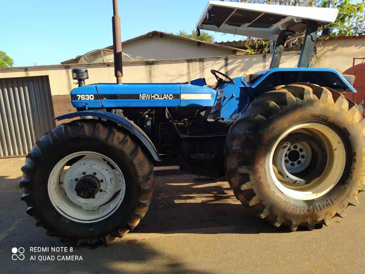 TRATOR NEW HOLLAND NEW 7630 Tração 4x4 Gerominho Implementos Agrícolas UBERLANDIA MINAS GERAIS MG