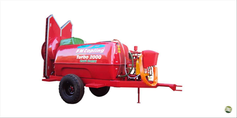 PULVERIZADOR FMC TURBO 2000 Arrasto Gerominho Implementos Agrícolas UBERLANDIA MINAS GERAIS MG