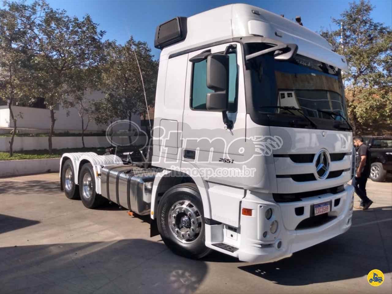 CAMINHAO MERCEDES-BENZ MB 2651 Chassis Traçado 6x4 Ritmo SP PIRASSUNUNGA SÃO PAULO SP