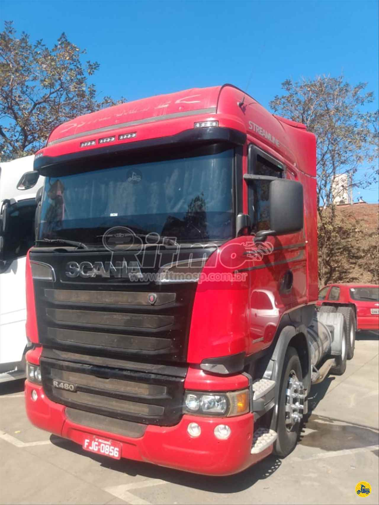 CAMINHAO SCANIA SCANIA 480 Chassis Traçado 6x4 Ritmo SP PIRASSUNUNGA SÃO PAULO SP