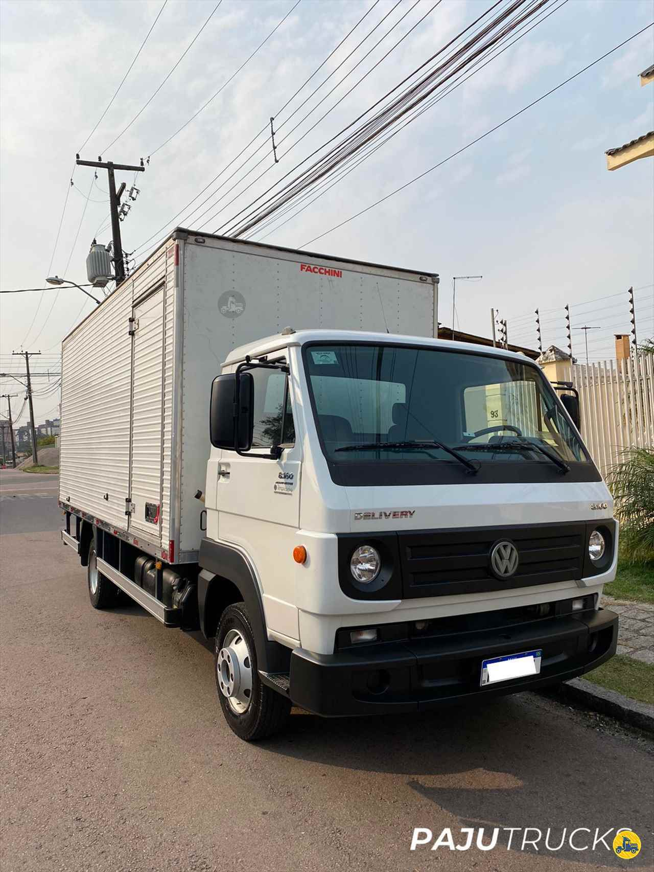 CAMINHAO VOLKSWAGEN VW 8160 Baú Furgão 3/4 4x2 Paju Trucks CURITIBA PARANÁ PR
