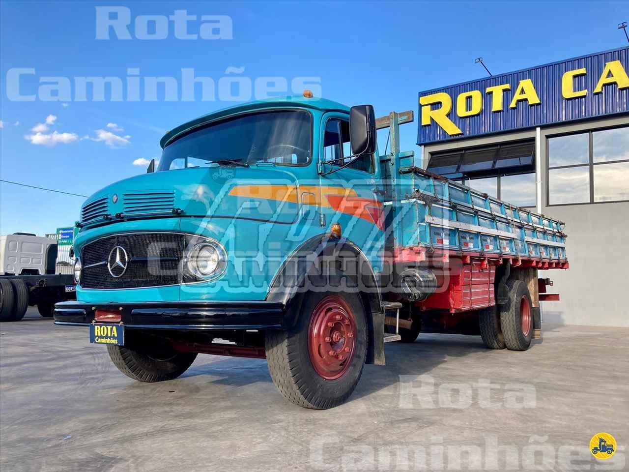 CAMINHAO MERCEDES-BENZ MB 1111 Carga Seca Toco 4x2 Rota Caminhões SUMARE SÃO PAULO SP