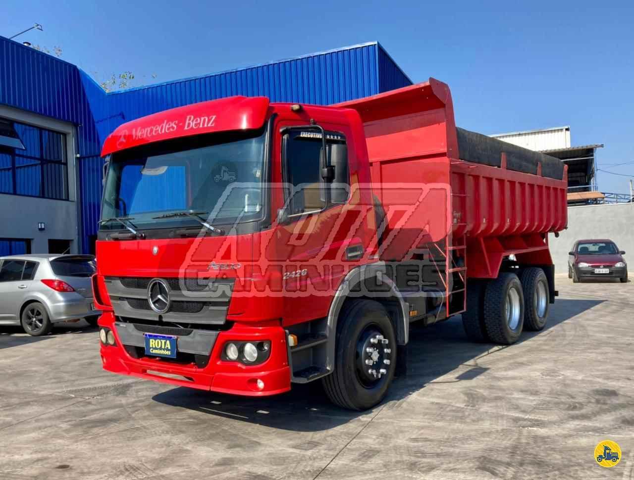 CAMINHAO MERCEDES-BENZ MB 2426 Caçamba Basculante Truck 6x2 Rota Caminhões SUMARE SÃO PAULO SP