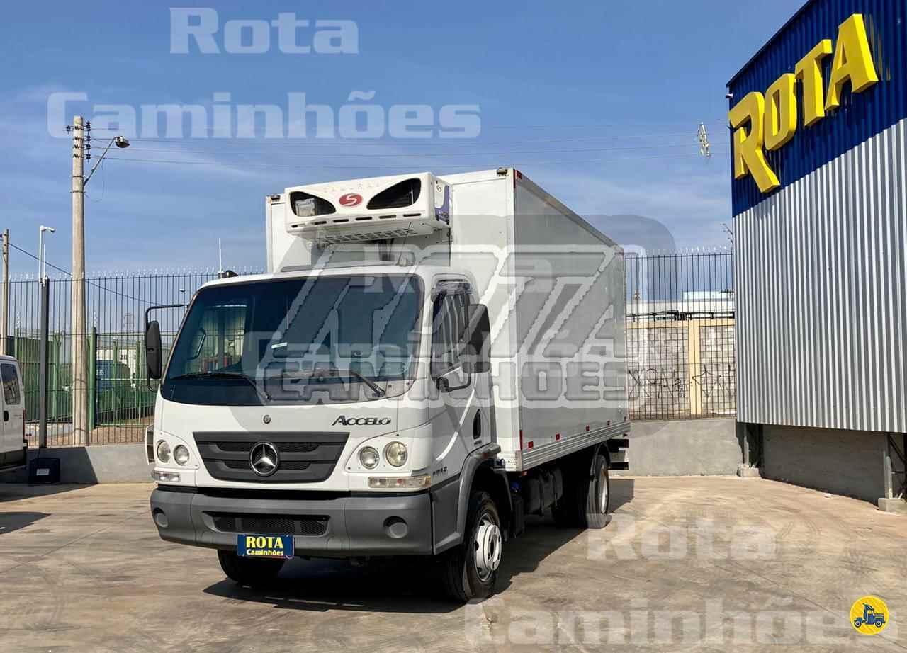 CAMINHAO MERCEDES-BENZ MB 1016 Baú Frigorífico 3/4 4x2 Rota Caminhões SUMARE SÃO PAULO SP