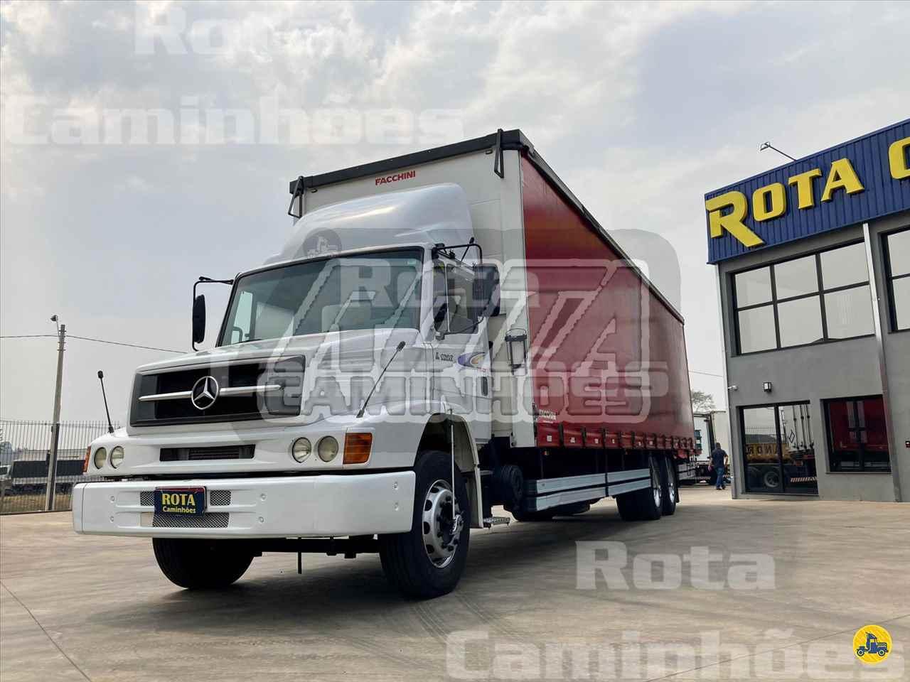 CAMINHAO MERCEDES-BENZ MB 1620 Baú Sider Truck 6x2 Rota Caminhões SUMARE SÃO PAULO SP
