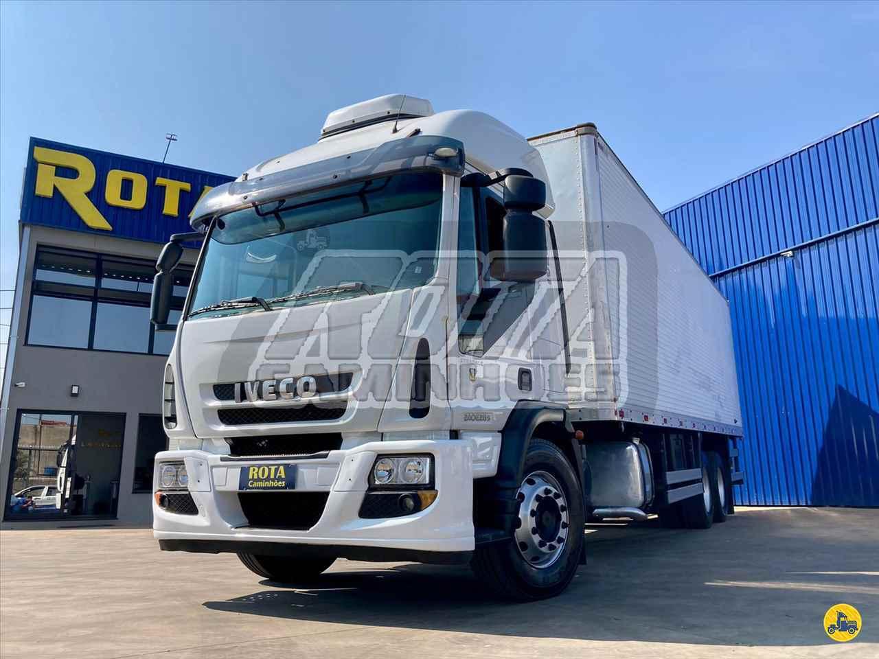 CAMINHAO IVECO TECTOR 240E28 Baú Furgão Truck 6x2 Rota Caminhões SUMARE SÃO PAULO SP