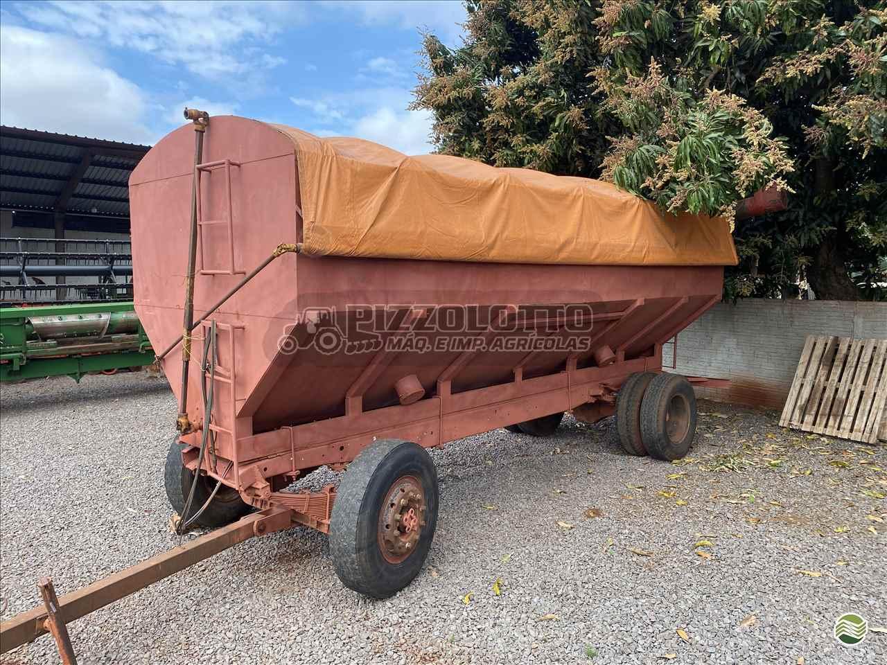 IMPLEMENTOS AGRICOLAS CARRETA BAZUKA GRANELEIRA 20000 Pizzolotto Máquinas e Implementos Agricolas PALOTINA PARANÁ PR