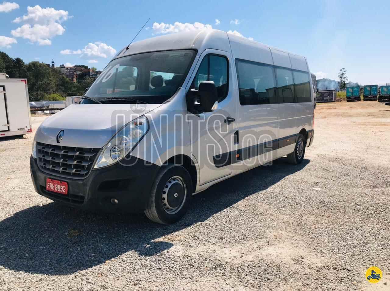 VANS RENAULT Master Minibus 2.3 Unitslog Caminhões ITAPECERICA DA SERRA SÃO PAULO SP