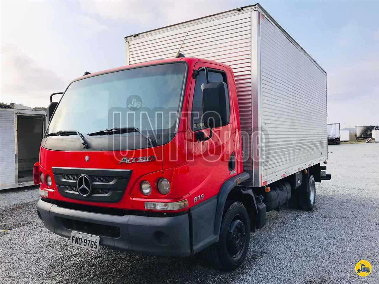 CAMINHAO MERCEDES-BENZ MB 815 Baú Térmico 3/4 4x2 Unitslog Caminhões ITAPECERICA DA SERRA SÃO PAULO SP