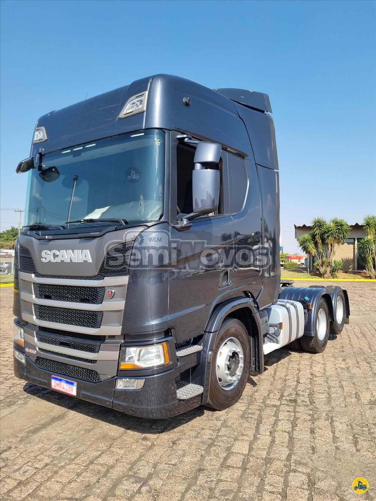 CAMINHAO SCANIA SCANIA 450 Cavalo Mecânico Truck 6x2 SEMINOVOS WLM - SP SUMARE SÃO PAULO SP