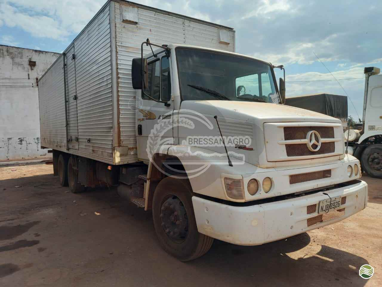 CAMINHAO MERCEDES-BENZ MB 1620 Baú Furgão Truck 6x2 Bressan Agro VARZEA GRANDE MATO GROSSO MT